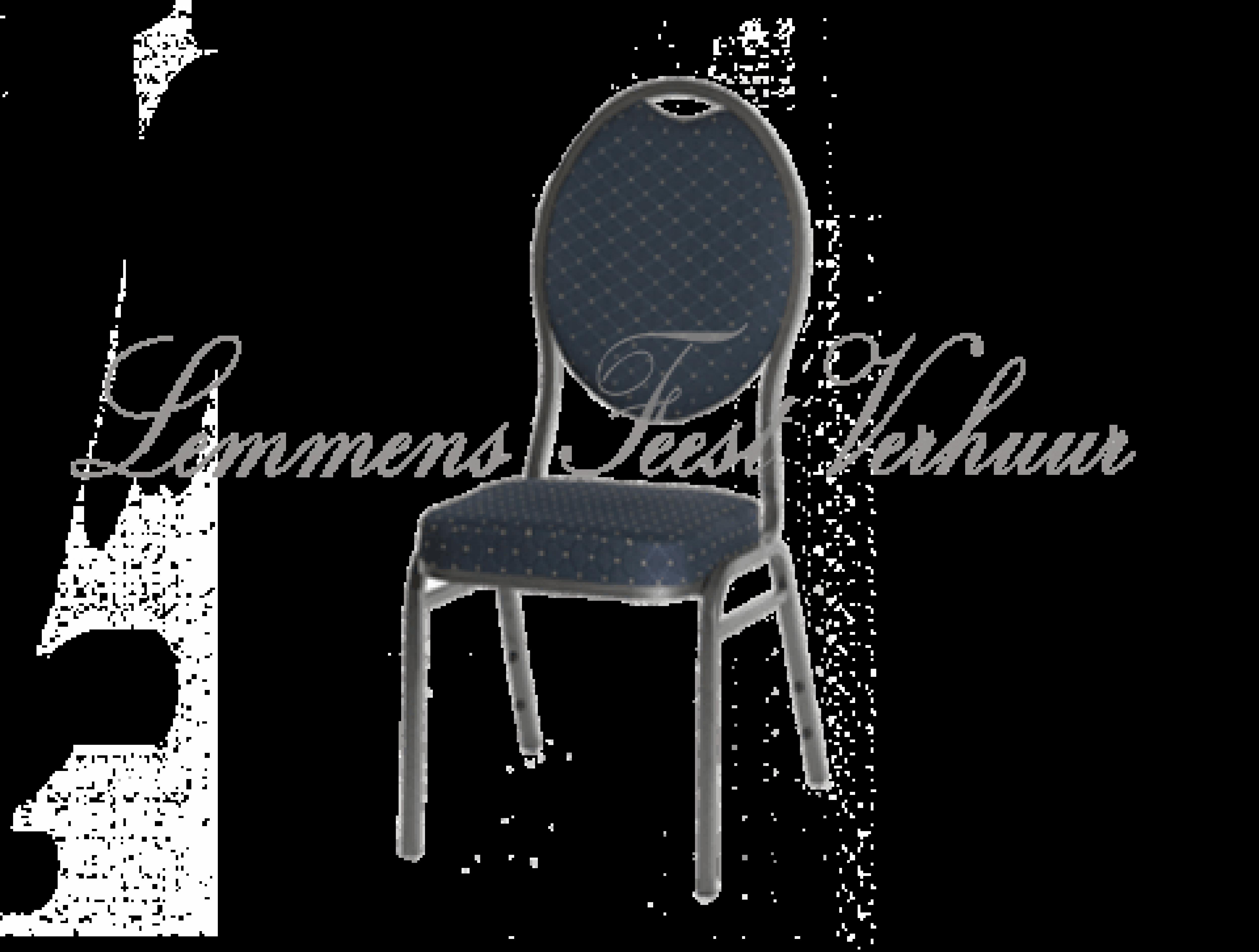 stockchair stoel banket blauw