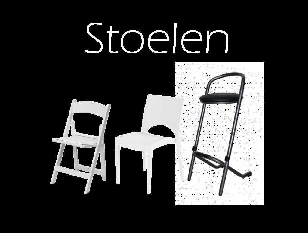 stoelen en tafels huren, feestmeubilair