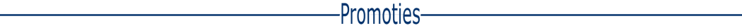 horizontale lijn blauw promoties